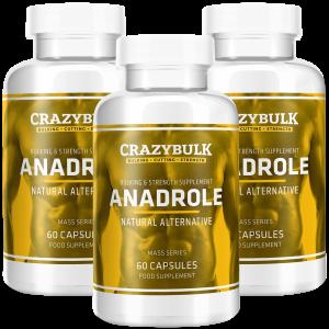 3 bouteilles d'Anadrole