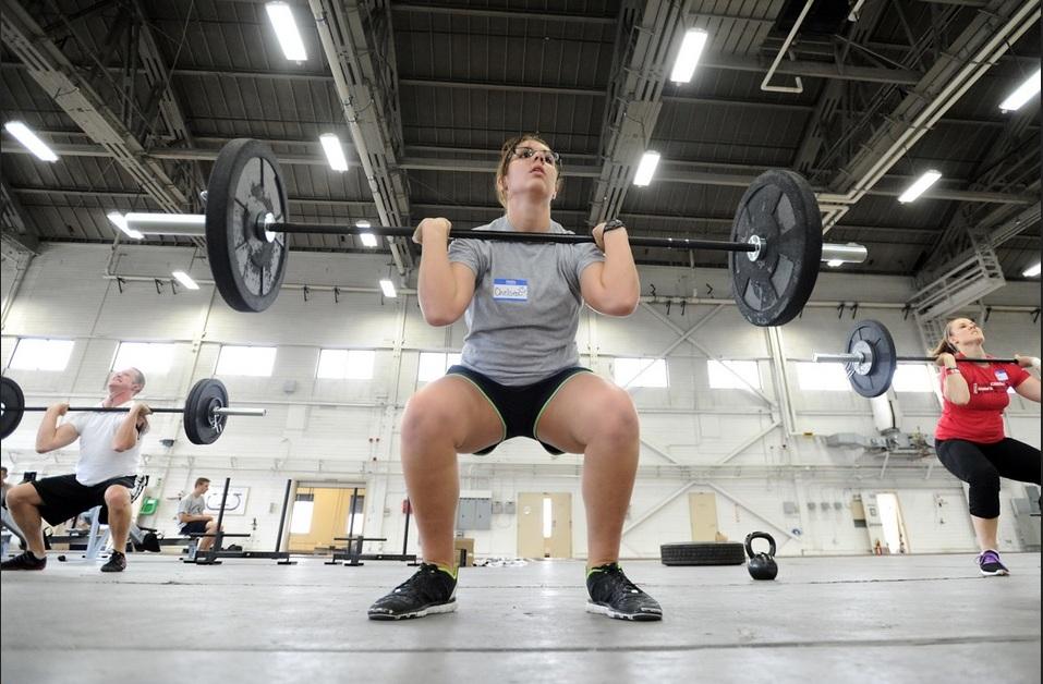 Exercice de squat
